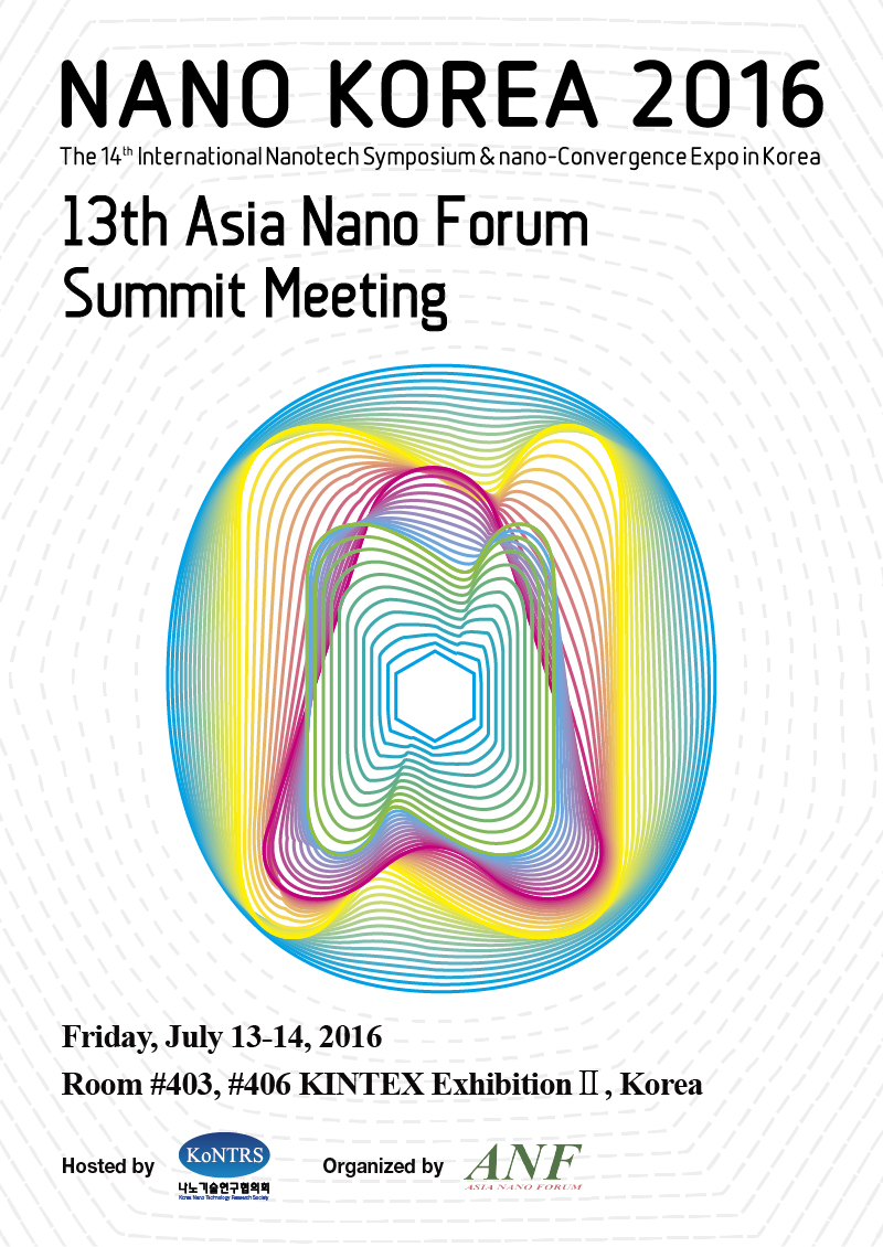 Asia Nano Forum Summit 2016