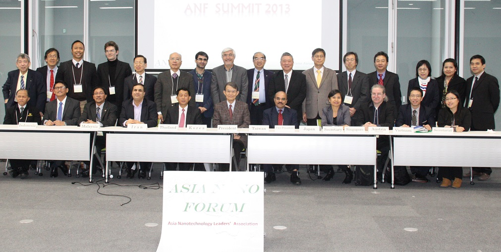 Asia Nano Forum Summit 2013